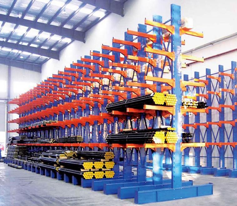 仓库重型货架摆放标准
